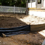 Grading of a Backyard