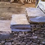 Steps built with Stone