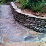 Sealed Stone Walkway