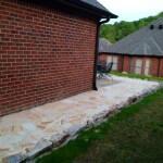Stone Walk path around House