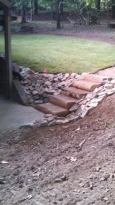 Stone Steps Completed